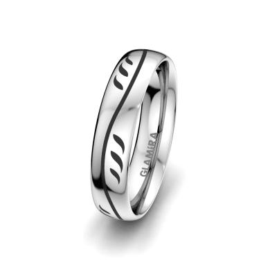 Men's Ring Essential Flower 5 mm