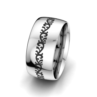 Men's Ring Essential Beauty 10 mm