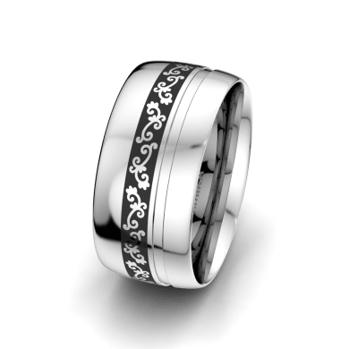 Men's Ring Essential Touch 10 mm