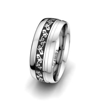 Men's Ring Essential Touch 8 mm