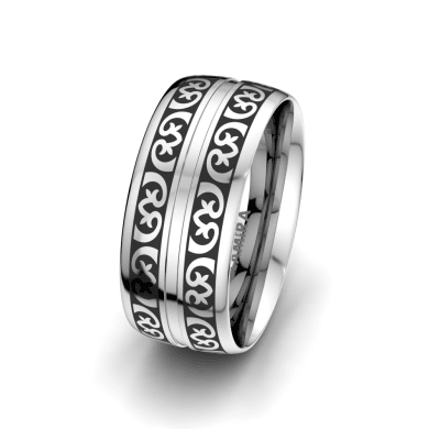 Men's Ring Gorgeous Touch 9 mm