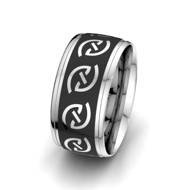 Men's Ring Gorgeous Desire 10 mm