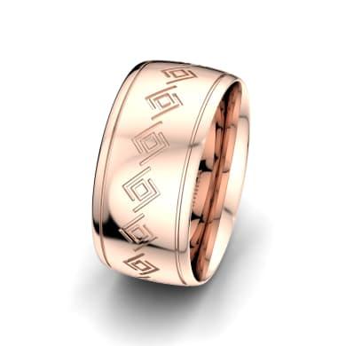 Men's Ring Shining Fortune 10 mm