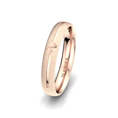 Men's Ring Passionate Waiting 4 mm