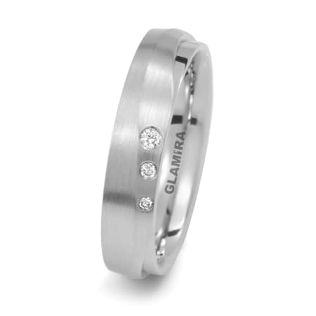 Damenring Silver & Diamonds Fusion
