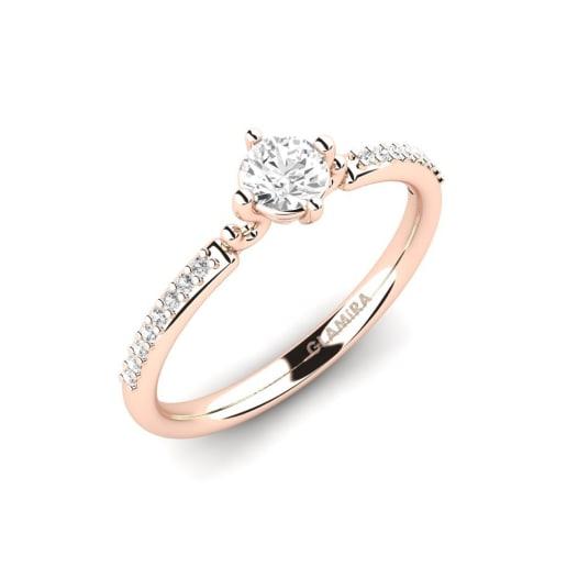 13690106d8b0 Pedir 585 Oro Rosa - Anillos de compromiso