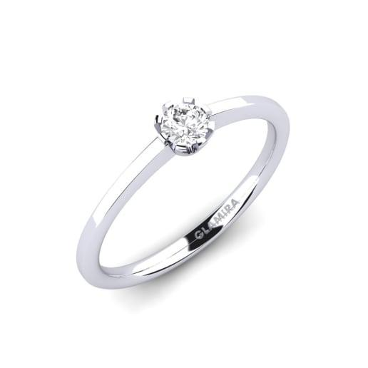 7958afbb46 fehér-585 - Eljegyzési gyűrűk vásárlás | GLAMIRA.hu