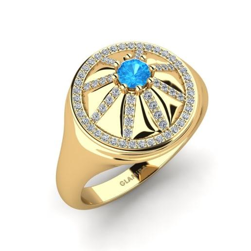 GLAMIRA Ring Saffron