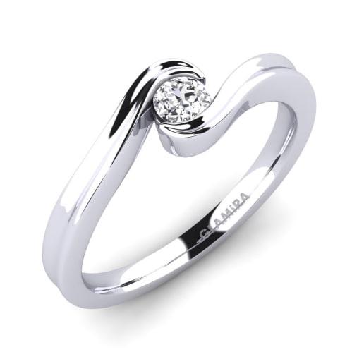 GLAMIRA Ring Adele 0.16 crt