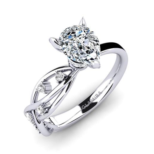 GLAMIRA Ring Aracelis - Pear