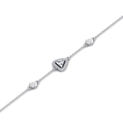 GLAMIRA Bracelet Dwana - Trillion
