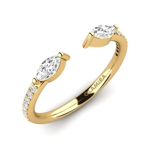 GLAMIRA Gyűrű Edyna