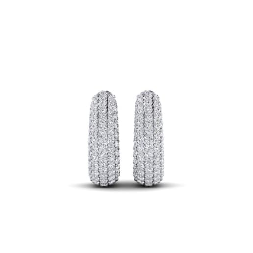 GLAMIRA Boucles D'oreille Germaine 15 mm