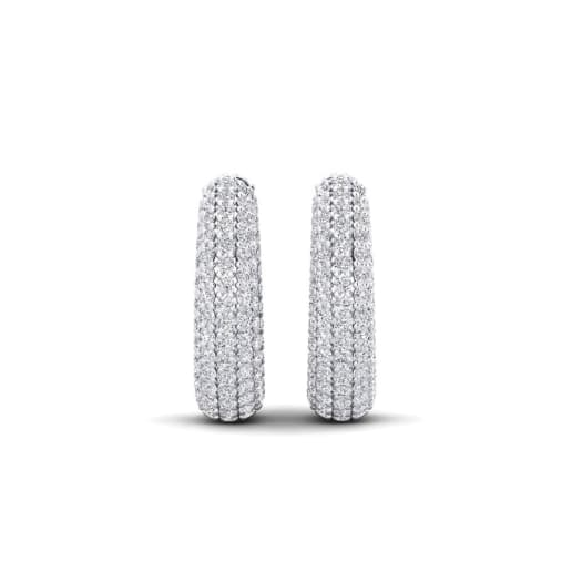 GLAMIRA Boucles D'oreille Germaine 17 mm
