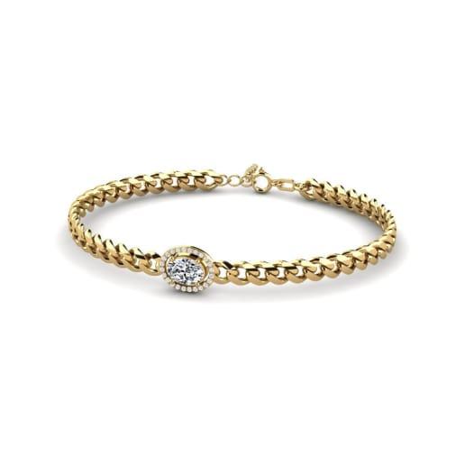 GLAMIRA Bracelet Jayla - Oval