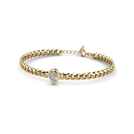 GLAMIRA Bracelet Jayla - Pear