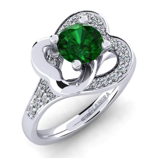 GLAMIRA Žiedas Kailyn 0.8 crt