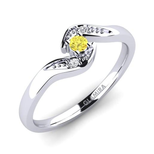 GLAMIRA Ring Magnolia 0.07crt