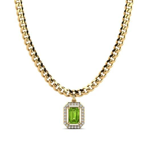 GLAMIRA Pendant Nona Emerald