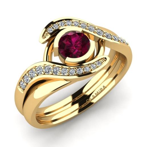 GLAMIRA Gyűrű Reese