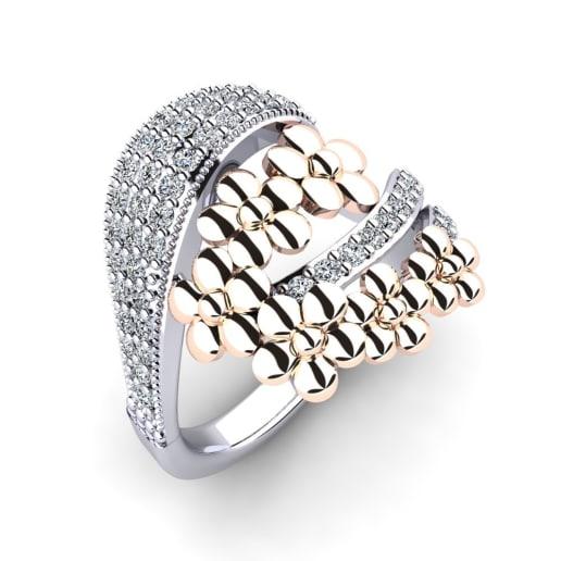 GLAMIRA Gyűrű Steffanie