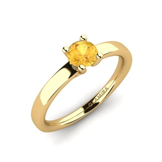 GLAMIRA Žiedas Titina 0.5 crt