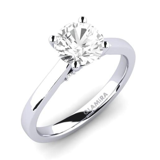 GLAMIRA Ring Violet 1.0 crt