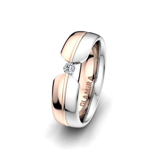 Women's ring Bright Nature 6 mm