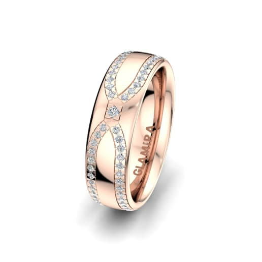 Women's ring Alluring Look 6mm