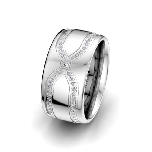 Women's ring Alluring Look 10mm
