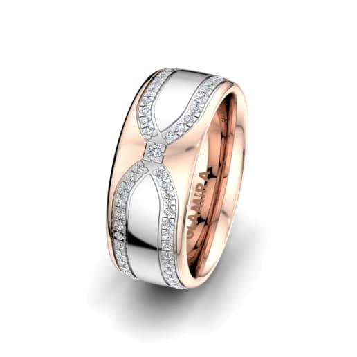 Women's ring Alluring Look 8mm