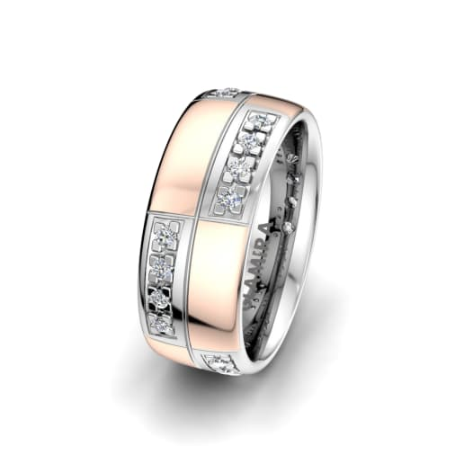 Anillo de mujer Dynamic Perfection 8mm