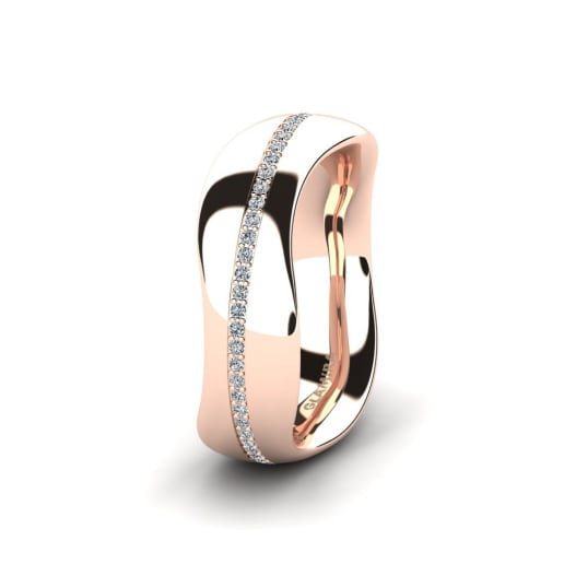 Women's Ring Confident Cover 6 mm