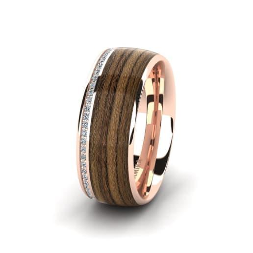 Women's ring Peaceful Twinkle 10 mm