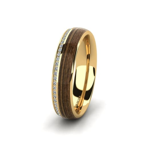 Women's ring Peaceful Twinkle 5 mm