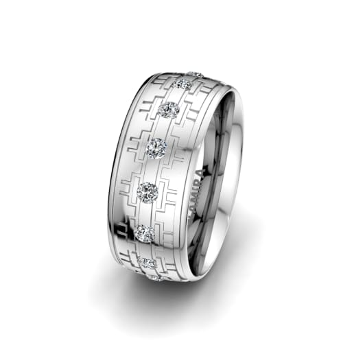 Women's Ring Unique Line 8 mm