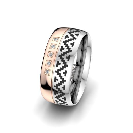 Ženski Prsten Magic Key 8 mm