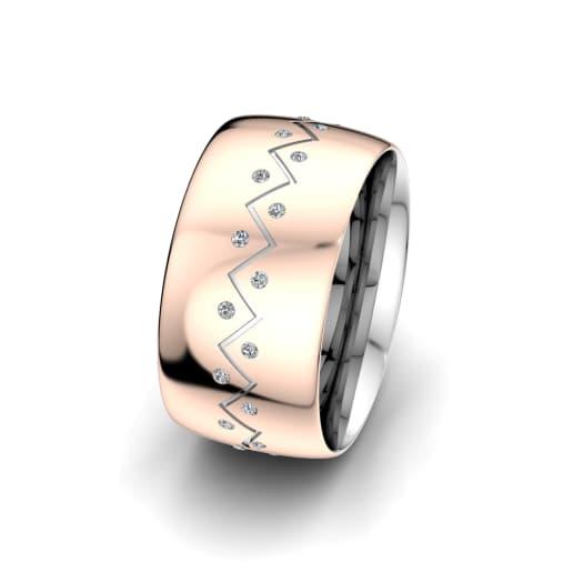 Ženski Prsten Unique Harmony 10 mm