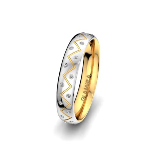 Women's Ring Unique Harmony 4 mm