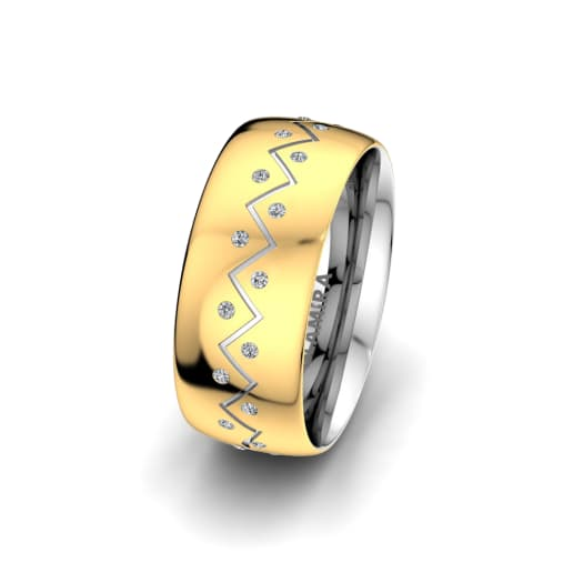 Women's Ring Unique Harmony 8 mm