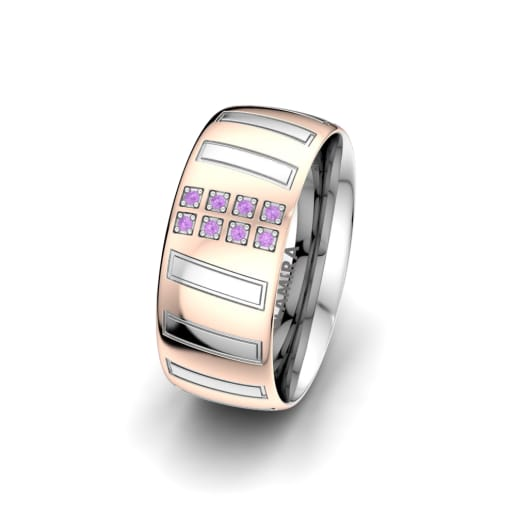 Ženski Prsten Unique Star 8 mm