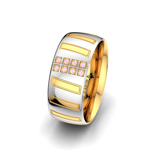 Women's Ring Unique Star 8 mm