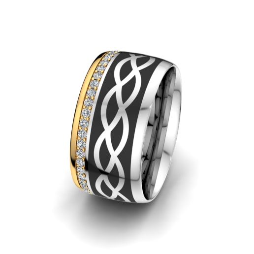 Women's Ring Mystic shape 10 mm