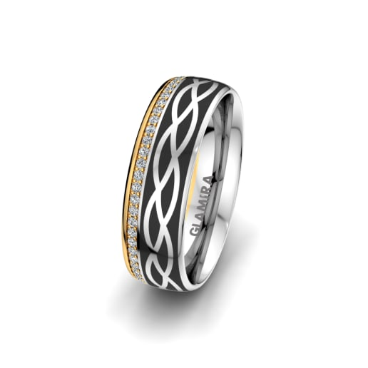 Women's Ring Mystic shape 6 mm