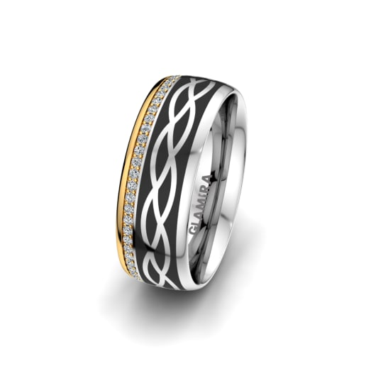 Women's Ring Mystic shape 7 mm