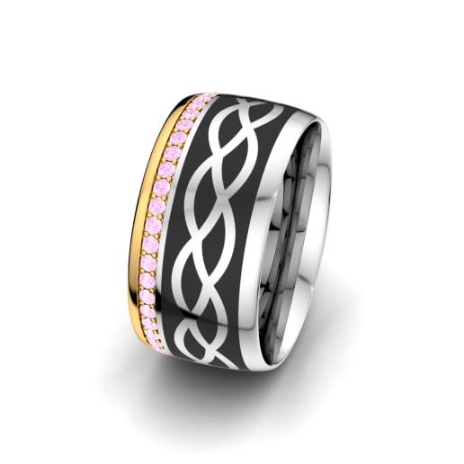 Women's Ring Mystic shape 10 mm