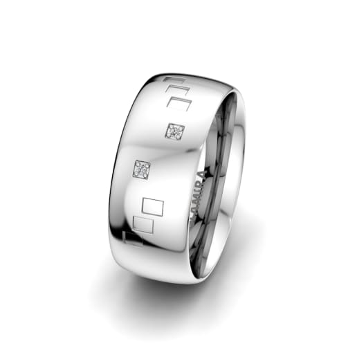 Damesring Charming Infinite 8 mm