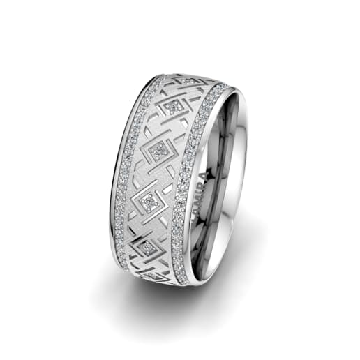 Women's Ring Endless Road 8 mm