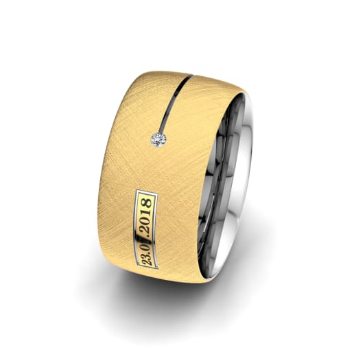 Women's Ring Alluring Night 10 mm