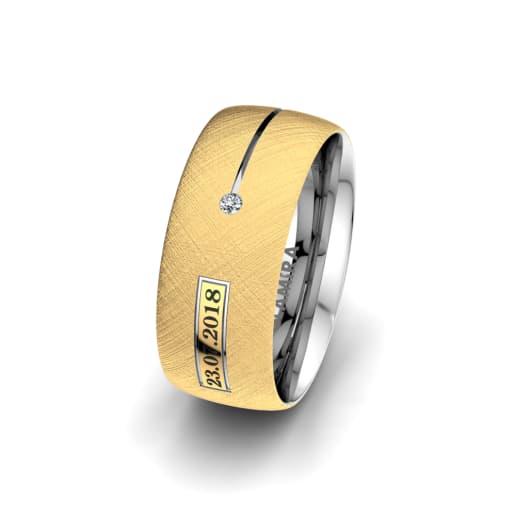 Women's Ring Alluring Night 8 mm